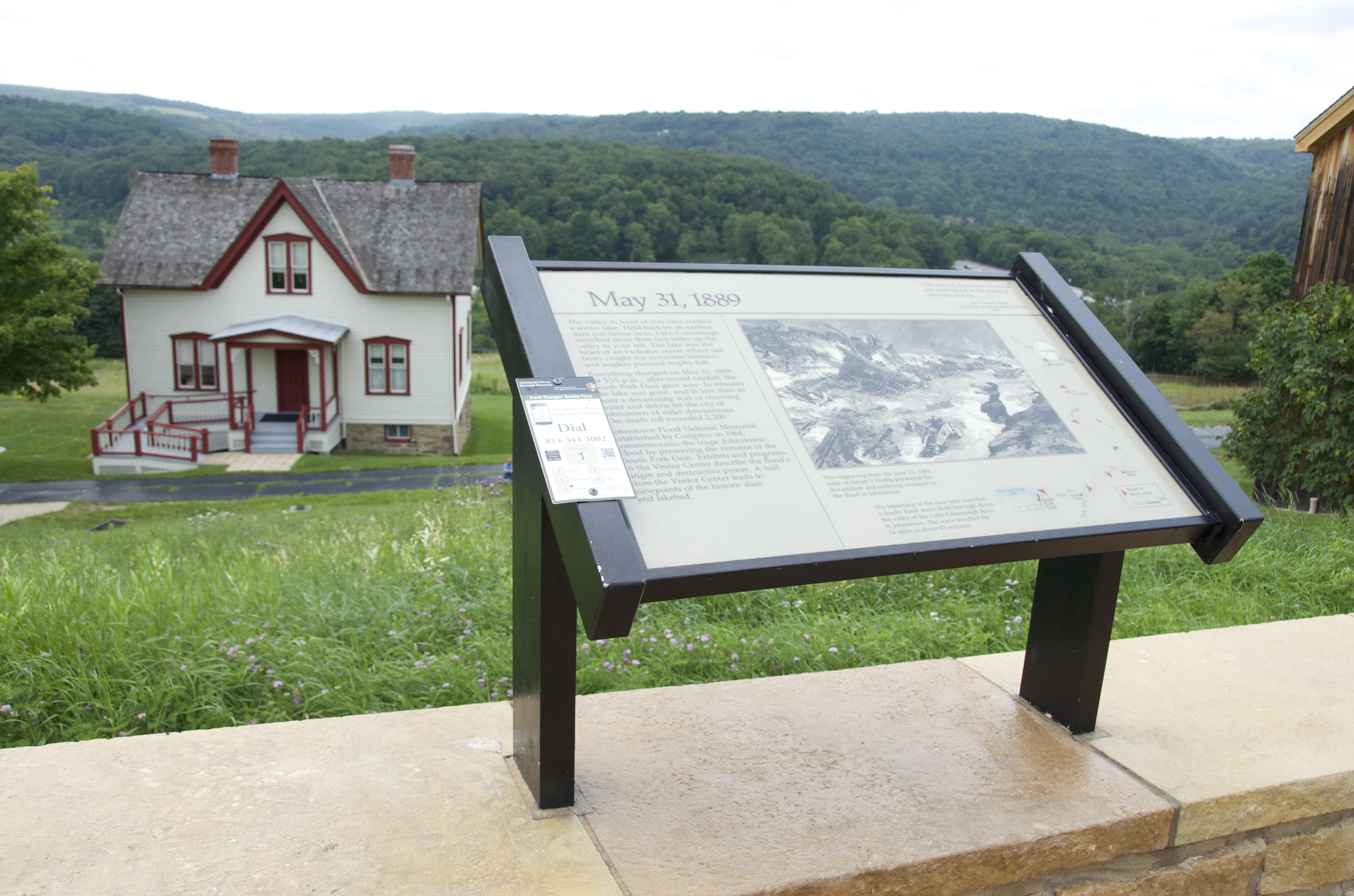 Johnstown Flood National Memorial Elias Unger House