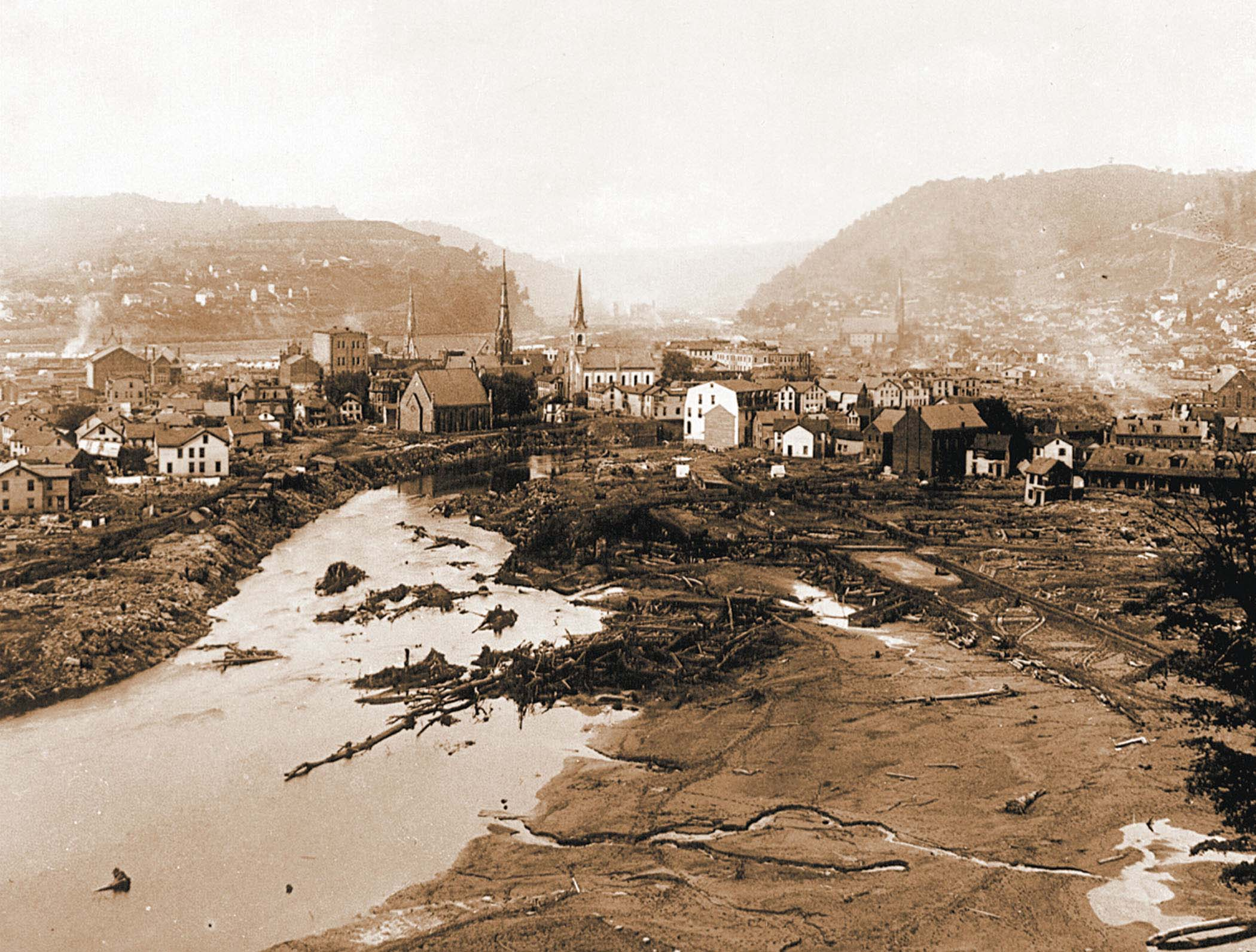 Visit Johnstown - The Johnstown Flood