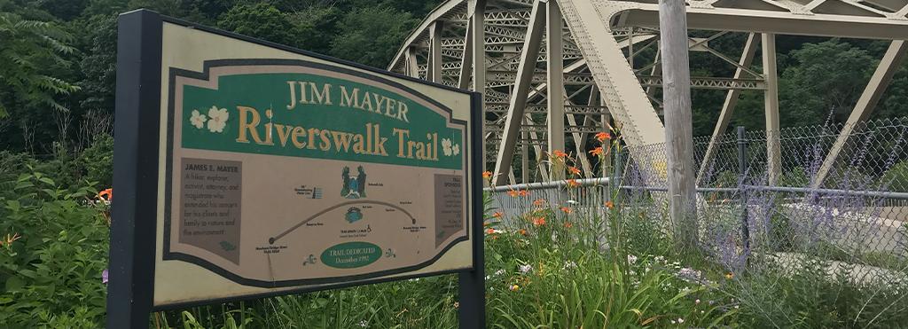 James Mayer Riverwalk Trail in Johnstown PA