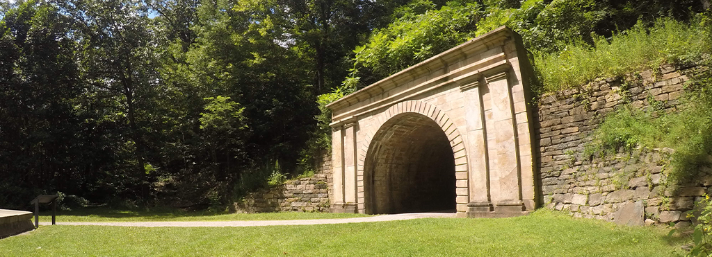 Staple Bend Tunnel Trail in Johnstown PA