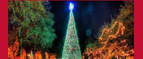 Christmas Village Pa.Animated Christmas Tree Christmas Village Visit