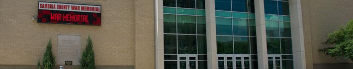 Visit Johnstown Pa   Cambria County War Memorial Arena