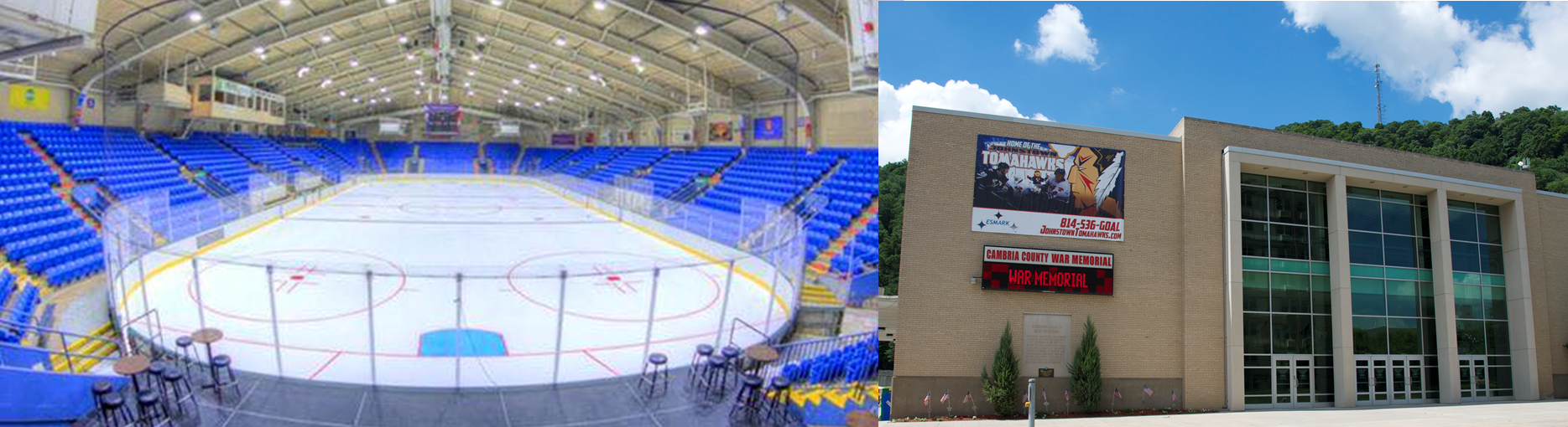 Visit Johnstown Pa | 1st Summit Arena @ Cambria County War Memorial