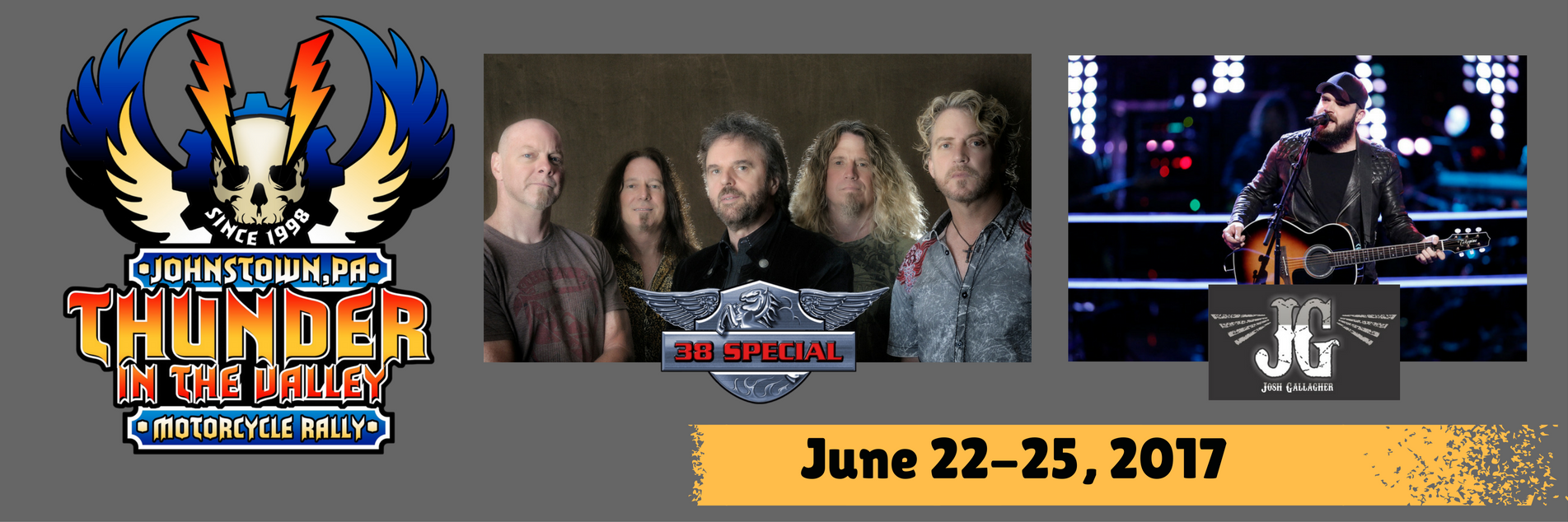 Visit Johnstown PA | Thunder in the Valley | Stage Schedule